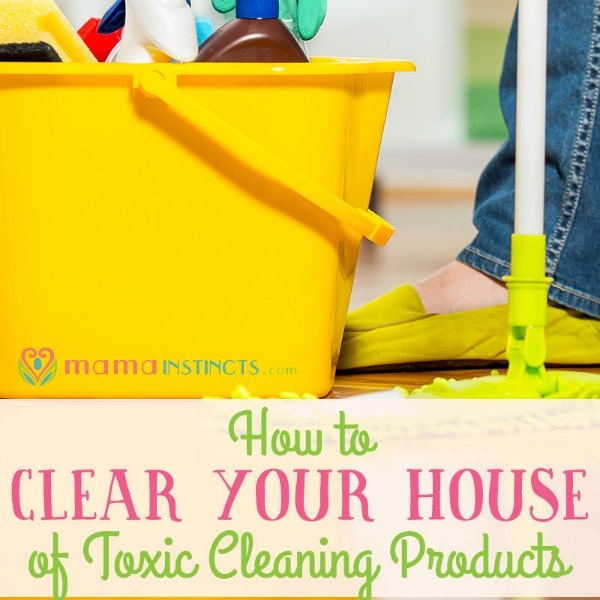 Deadly Household Items: How To Clear Your House Of Toxic Cleaning Products