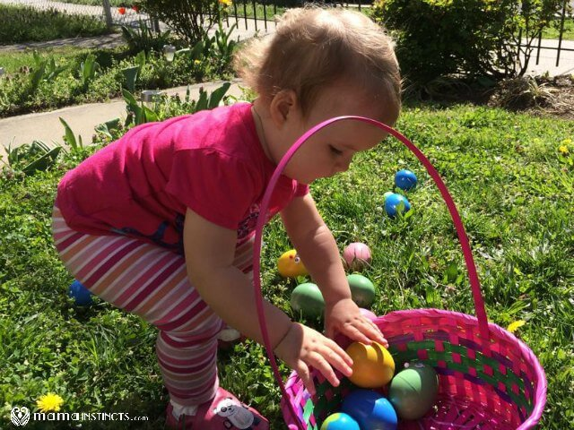 Easter Egg Hunt For 1 Year Olds Mama Instincts