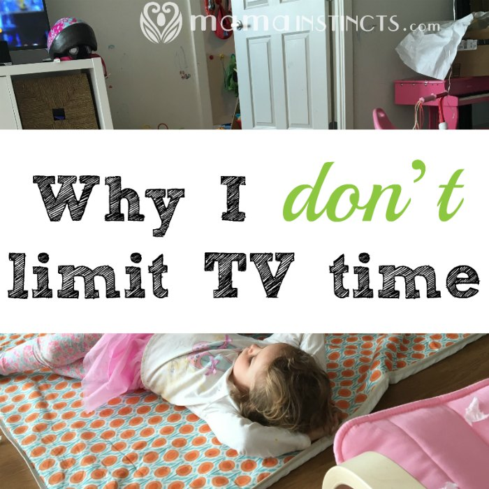 Why I don't limit TV time