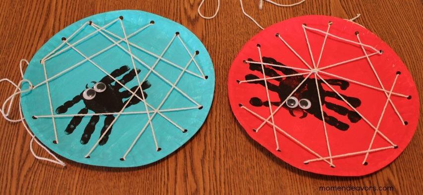 Handprint-Spider-Webs