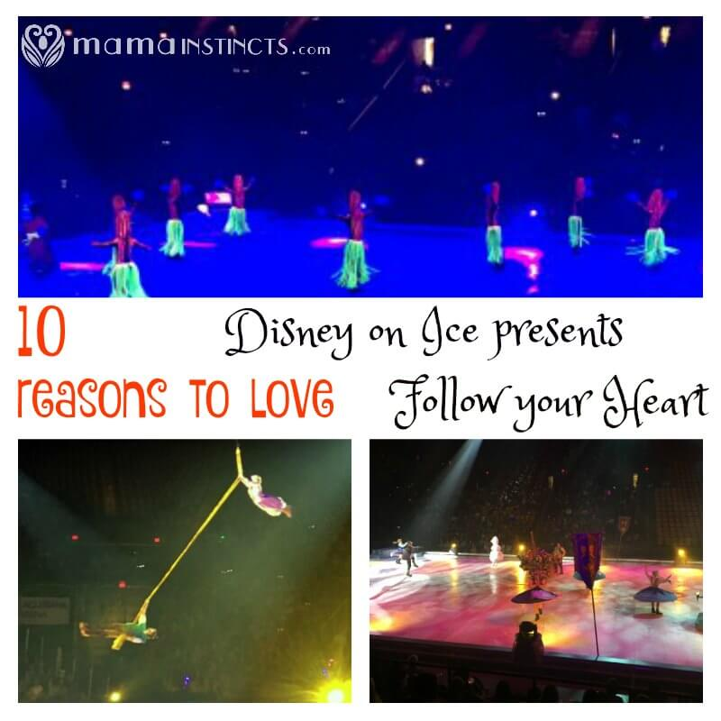 10 reasons to love Disney on Ice presents Follow your Heart