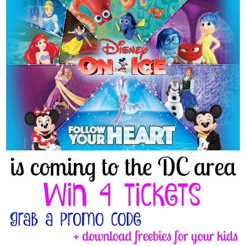 Disney On Ice presents Follow Your Heart is coming to the DC area + giveaway