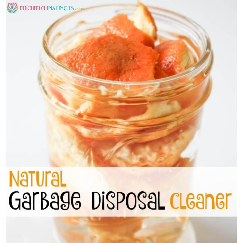 Natural Garbage Disposal Cleaner