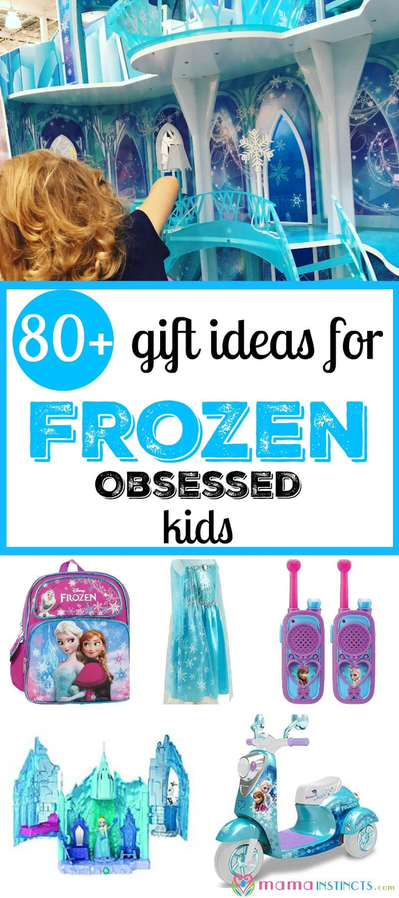 Do you have a Frozen obsessed kid? Then you have to look at these awesome 80+ Frozen gift ideas for birthdays, Christmas or a special occasion. You'll find from Castles, to furniture and anything you can image. All about Frozen.