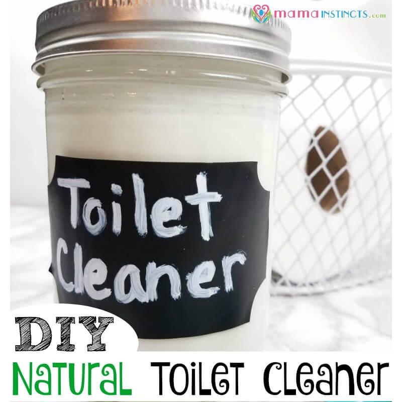 DIY Natural Toilet Cleaner