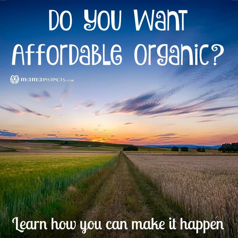 Do You Want Affordable Organic? Learn How You Can Make It Happen
