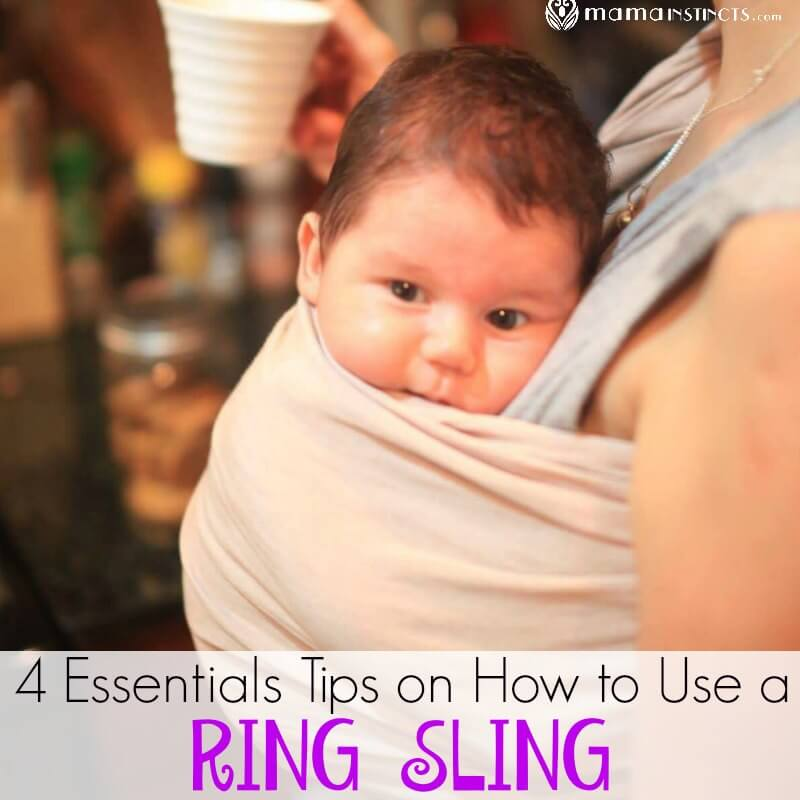 dfd1ba6746d 4 Essentials Tips on How to Use a Ring Sling Babycarrier – Mama Instincts®