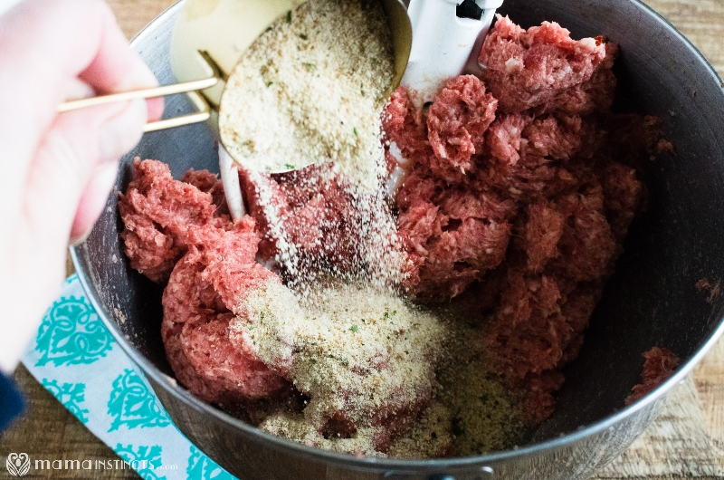 making Instant Pot Spaghetti Sauce with Meatballs